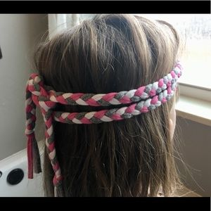 Braided Headband Belt Scarf Elastic Accessory 57in